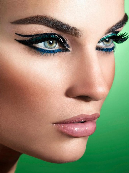 The-most-stylish-models-eye-makeup-Arabic-wikinaz-2