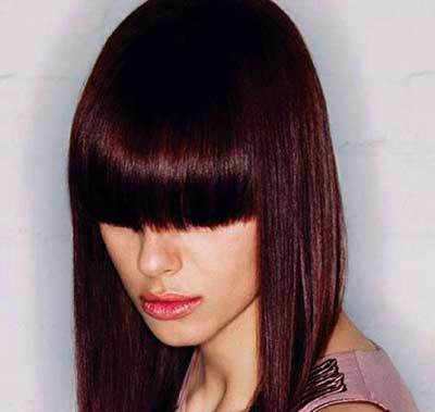 Hair color model jujube (10)