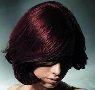 Hair color model jujube (6)